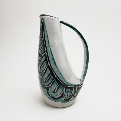 Ceramic vase by Swiss artist Lucette Hafner_0