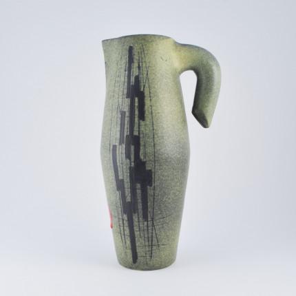 Francois Caleca ceramic pitcher
