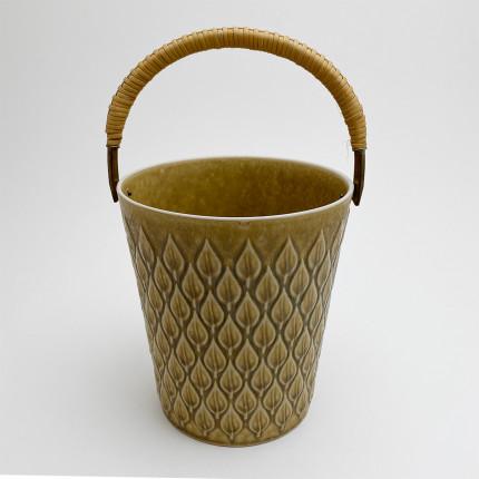 Vintage danish ceramic ice bucket by Jens Harald Quistgaard for Kronjyden Nissen