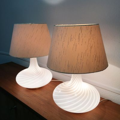Pair of vintage Murano lamps_0