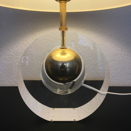 Vintage plexiglass lamp