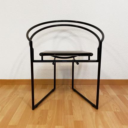 """4 chairs """"Latonda"""" design Mario botta for Alias"""