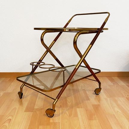 Cesare Lacca Italian vintage tea trolley