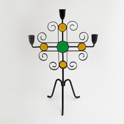 Candleholder designed by Gunnar Ander for Ystad Metall