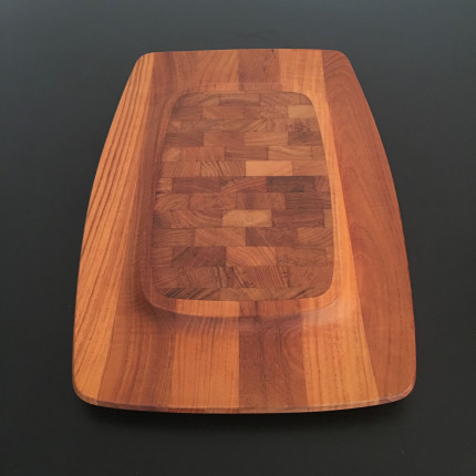 Teak tray designed by Jens Quistgaard