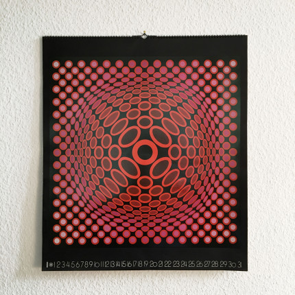 Vasarely perpetual calendar