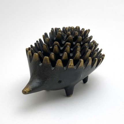 Vintage hedgehog ashtray by Walter Bosse