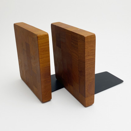 Vintage teak bookends Brostrom design